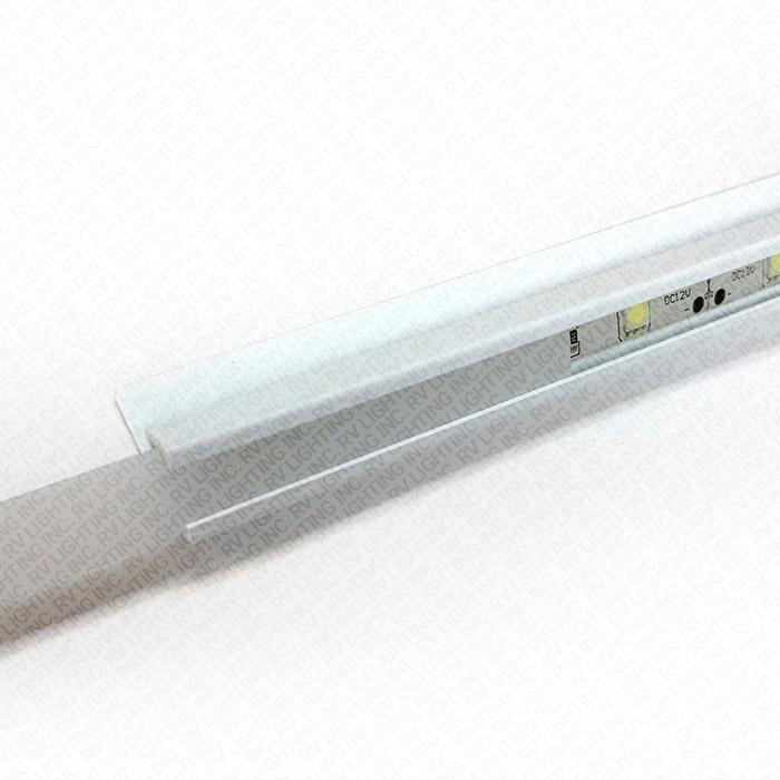 White Molding & Diffuser Kit for 10mm Light Strips | RV Lighting Inc