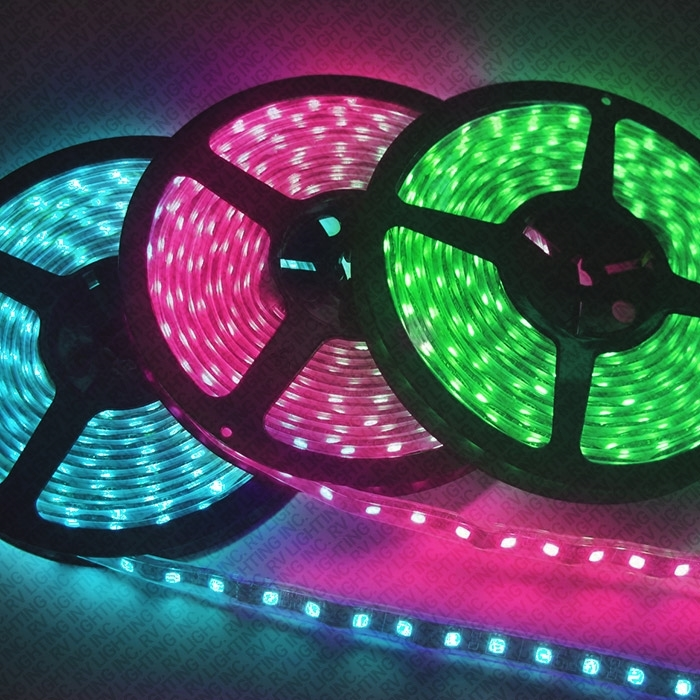 16ft Roll Of 10mm Rgb Led Strip Extension With Amplifier