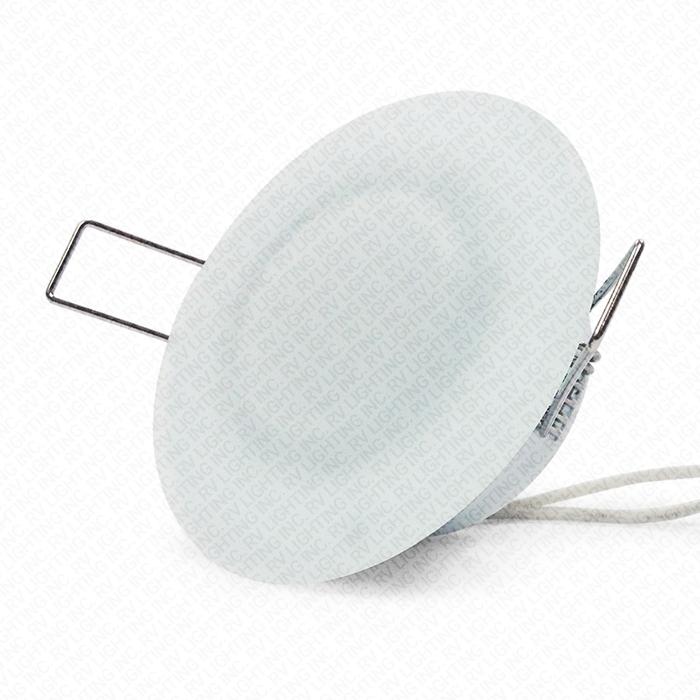 luminaire encastr avec lentille en verre 3 de diam tre rv lighting inc. Black Bedroom Furniture Sets. Home Design Ideas